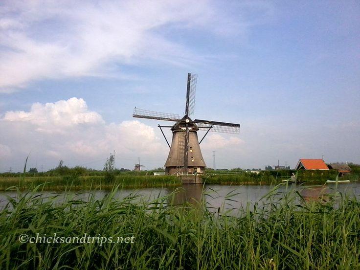 I mulini a vento di Kinderdijk (25 km da Rotterdam) - Olanda