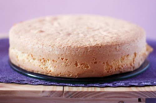 Traditional Italian Sponge Cake (Pan di Spagna) | Enjoy this authentic Italian recipe from our kitchen to yours. Buon Appetito!