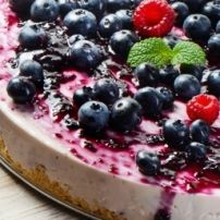 Bosbessen Cheesecake recept