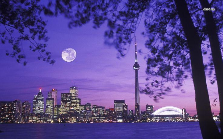 Toronto skyline wallpapers | Toronto skyline wallpaper