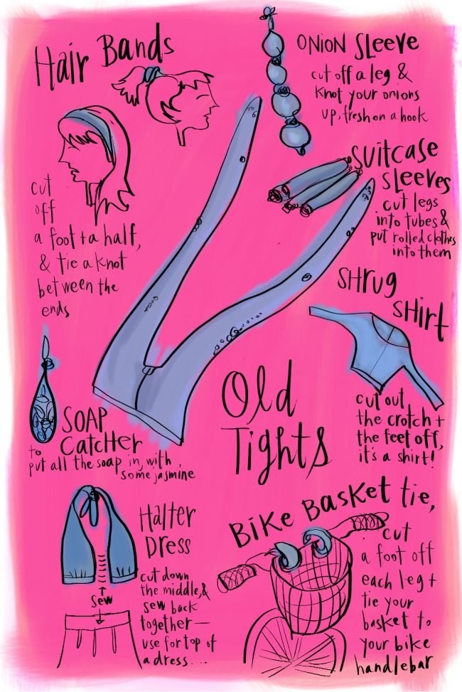 old tights - what to do with them - I thought I was the only person that turned them into headbands.: Diy Crafts How To, Fashion Crafts, Beautify Diy, Easy Ideas, Diy Fashion, Diy Clothing, Diy Amazing Ness, Craft Ideas, Tights Tips