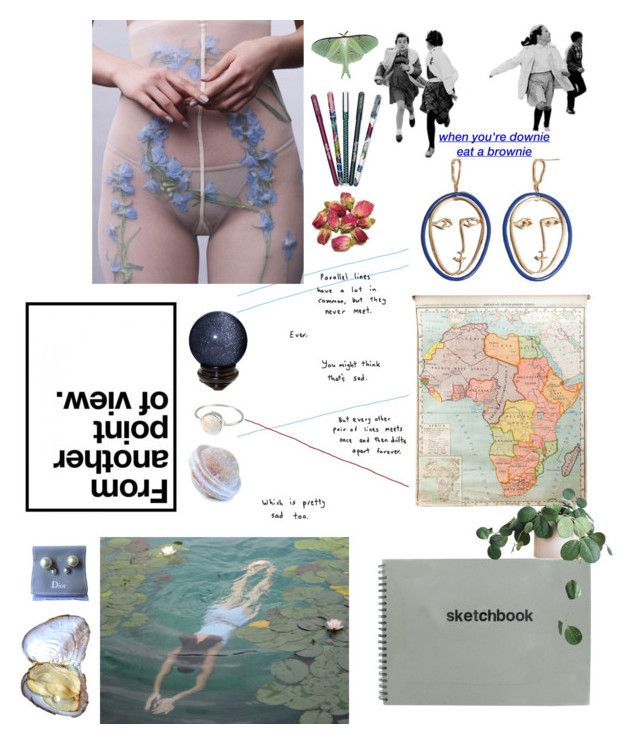 """seemingly random but neatly planned"" by vesleku on Polyvore featuring art"