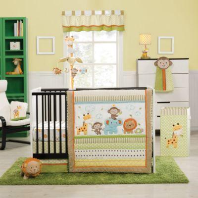 Crib Fashion Bedding > kidsline™ Safari Party 4-Piece Crib Bedding Set from Buy Buy Baby