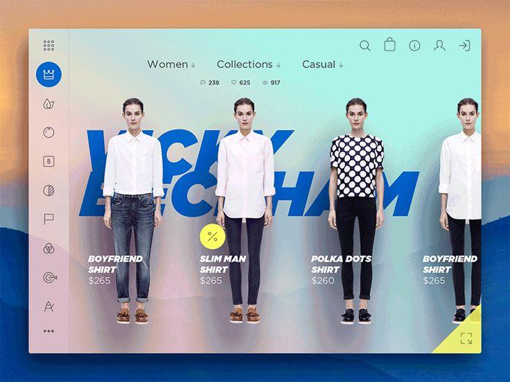 Dribbble - Floating Couture - via #designhunt