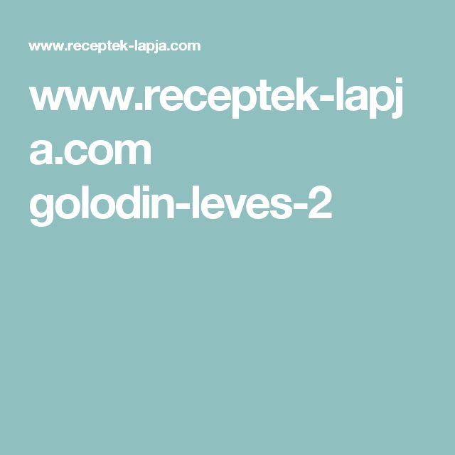www.receptek-lapja.com golodin-leves-2