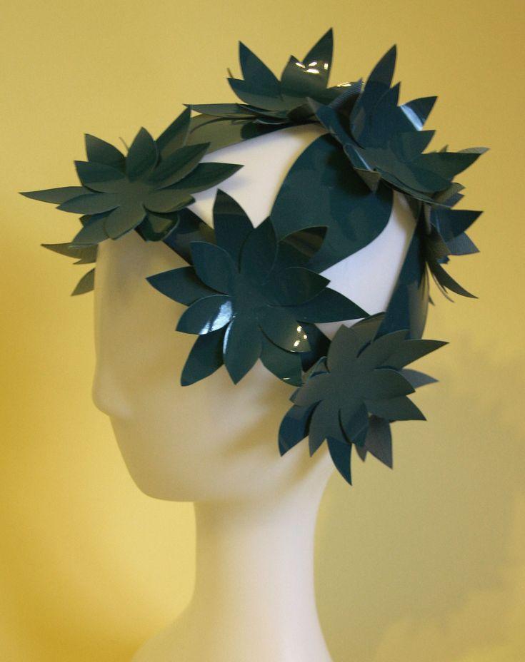 Lake flower hat by Ozmonda ..thinking on Balaton..