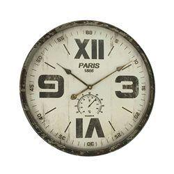 Horloge mix chiffres romains 60cm EMDE PREMIUM - Horloge