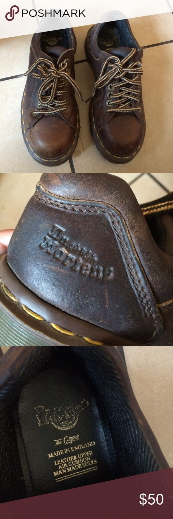 DR MARTENS Size 5 UK = 7 US. Used A Lot Price reflects / heavy duty Dr. Martens Shoes