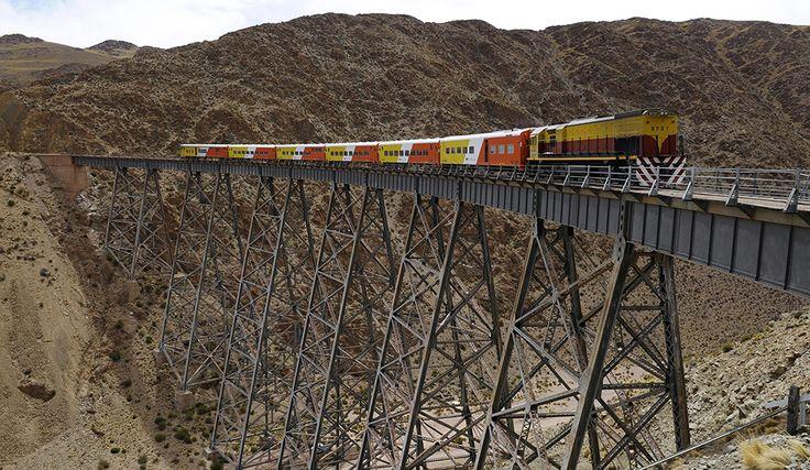 El Tren a las Nubes, provincia de Salta.