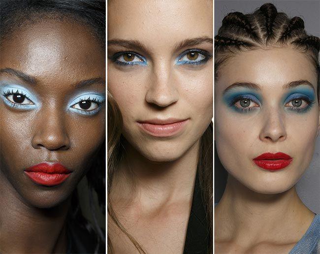 Spring/ Summer 2015 Makeup Trends: Bold Blue Eye Makeup  #makeup #makeuptrends #beauty