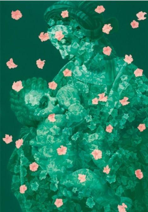 Contemporary Chinese Artist Feng Zhengjie, Floating Flora on ArtStack #feng-zhengjie #art