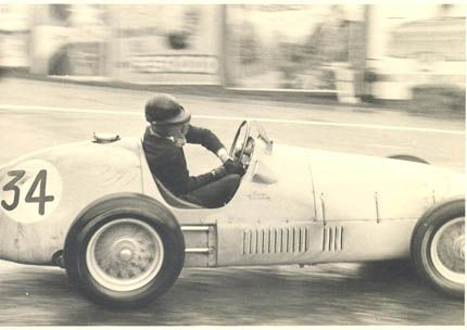 Charles De Tornaco at the 1952 Belgian GP finishing 7th.