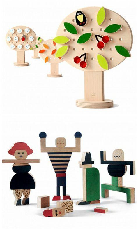 Creative Toys To Stimulate Their Imagination Drewniane