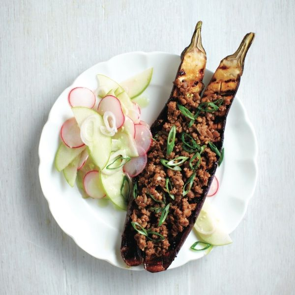 Go vegetarian on the grill tonight with this protein-packed Japanese eggplant recipe! Find the recipe at Chatelaine.com