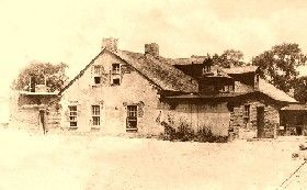 The Lucien B. Maxwell House in Cimarron, 1864.  Zane Grey mentions this New Mexico ranch in several of his novels.