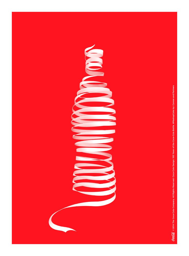Kiss The Past Hello. Coca-Cola Design: 100 Years of the Coca-Cola Bottle. #MashupCoke by: Conran and Partners