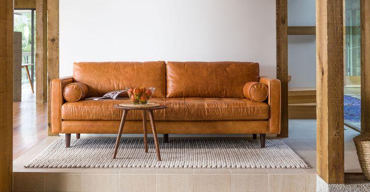 Sven Charme Tan Sofa - Sofas - Article | Modern, Mid-Century and Scandinavian Furniture