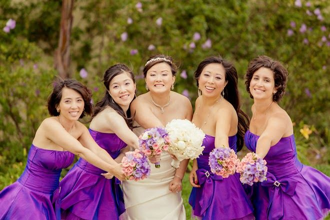 Pink and Purple Classic Wedding  | bellethemagazine.com