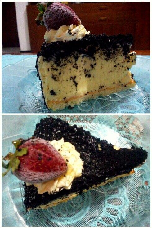Oreo ice cake