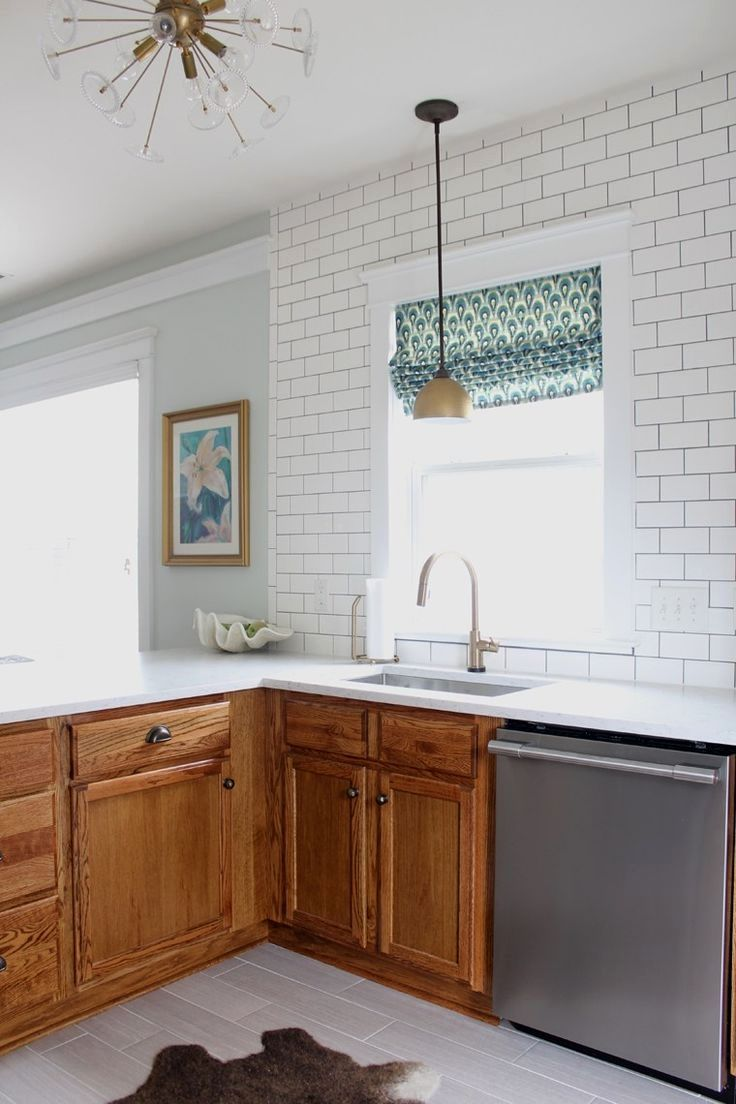 Kitchen paint colors with white cabinets and dark floors and pics of