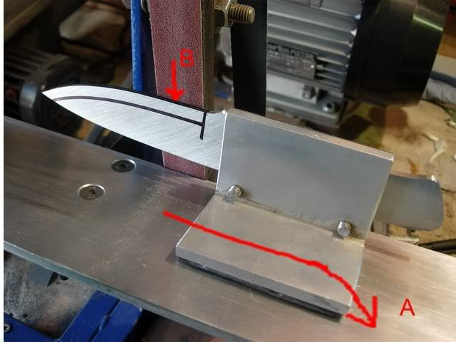 Pin By Jeff Brown On Knives Knife Grinding Jig Knife