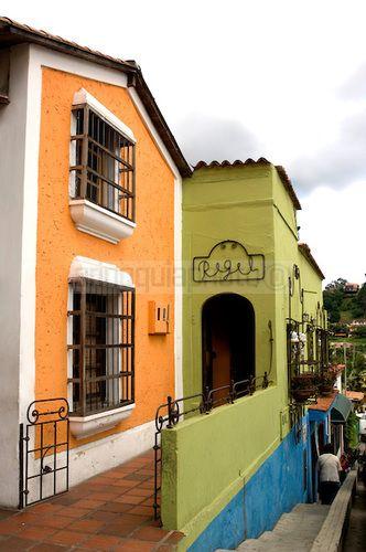Pueblo colorido de El Hatillo en Miranda, Venezuela