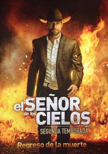 Yes, he is the reason why I watch the novela! Lol  El senor de los cielos segunda temporada.