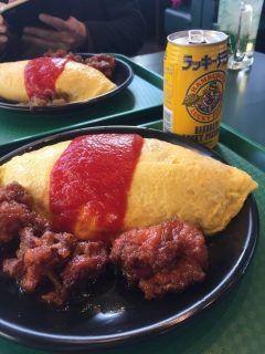 男2人で函館のラッキーピエロに来ました 特盛食べて札幌帰ります()  tags[北海道]