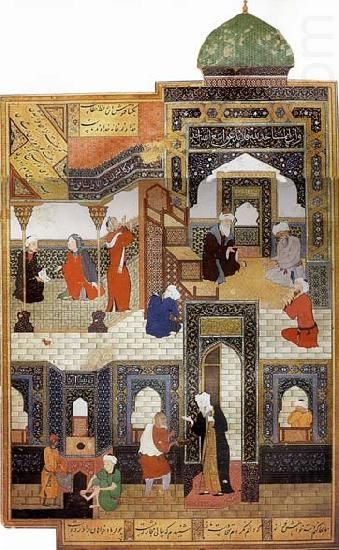 Bihzad painting