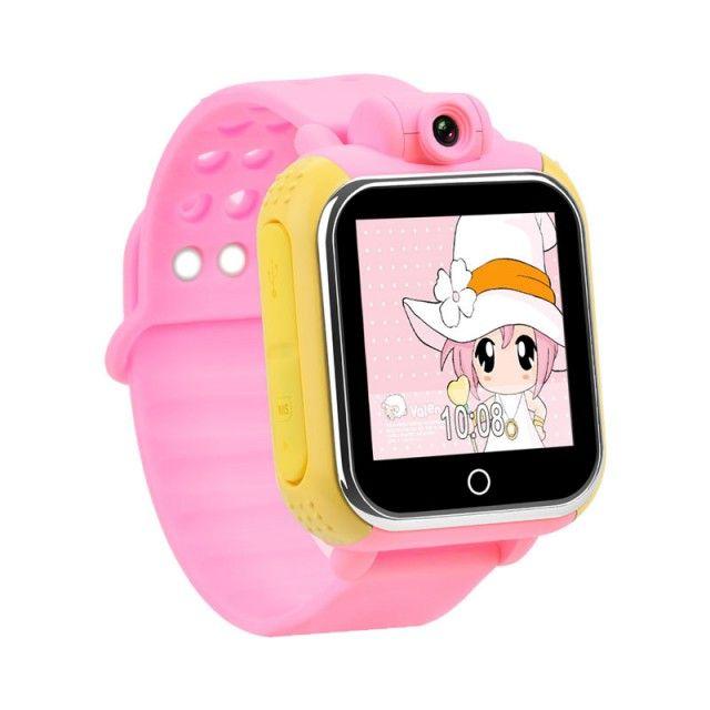 Poze Ceas GPS copii Wonlex GW1000 3G, cu camera foto, functie telefon, pozitie WiFi, monitorizare spion, buton SOS, compatibil Digi, variante culori
