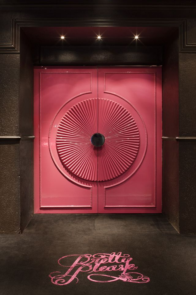 Door at Pretty-Please-Lounge -Club-Melbourne
