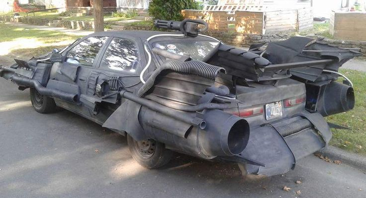 Batmobile Toyota Camry Is Somehow Allowed On Public Roads