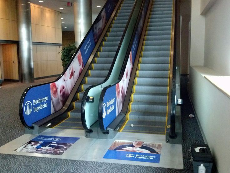 Escalator Handrail Advertising http://bit.ly/1T6d0yT The unique, elastic and scratch proof special film is extremely resistant to outside influences and furthermore meets all requirements of the European fire safety regulations. #Adrail #Adroller