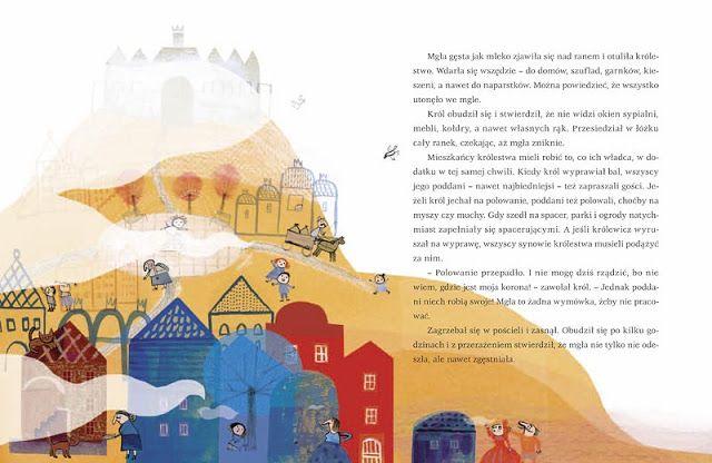 polska ilustracja dla dzieci: Nowość - Król i mgła