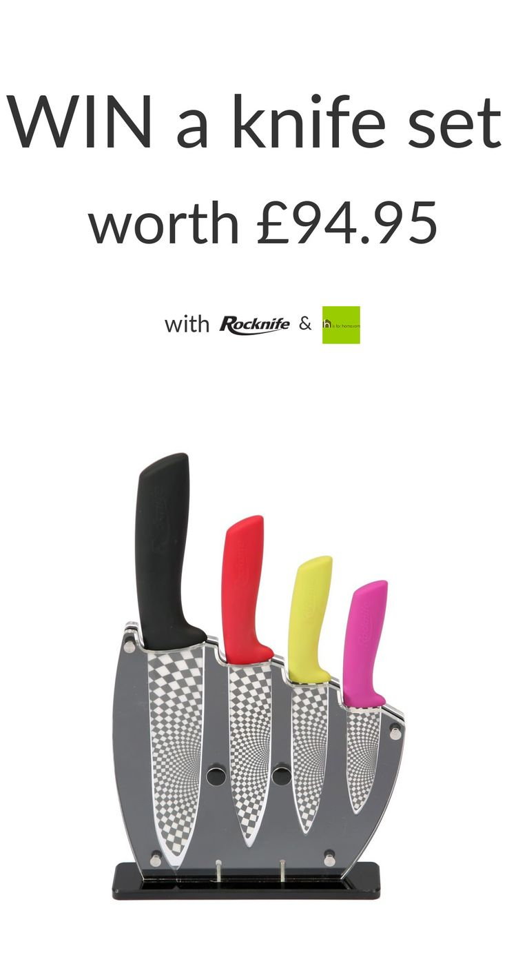 #Win a @rocknife ceramic knife set with @hisforhome Enter here…