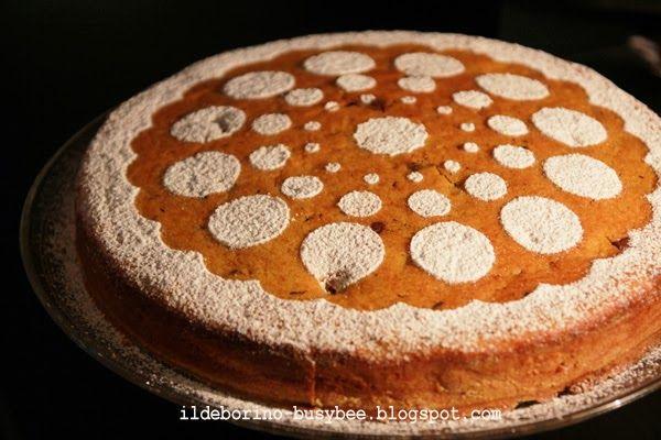 Torta di Zucca e Cioccolato or Pumpkin and Chocolate Cake