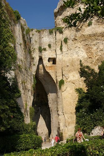 Ear of Dionysius - Siracusa, Sicily, Italy #siracusa #sicilia #sicily