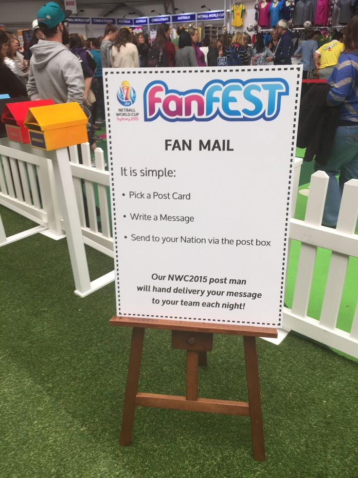 Netball World Cup #NWC2015 Fan Zone
