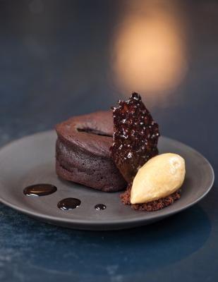 Amedei Chocolate Cake