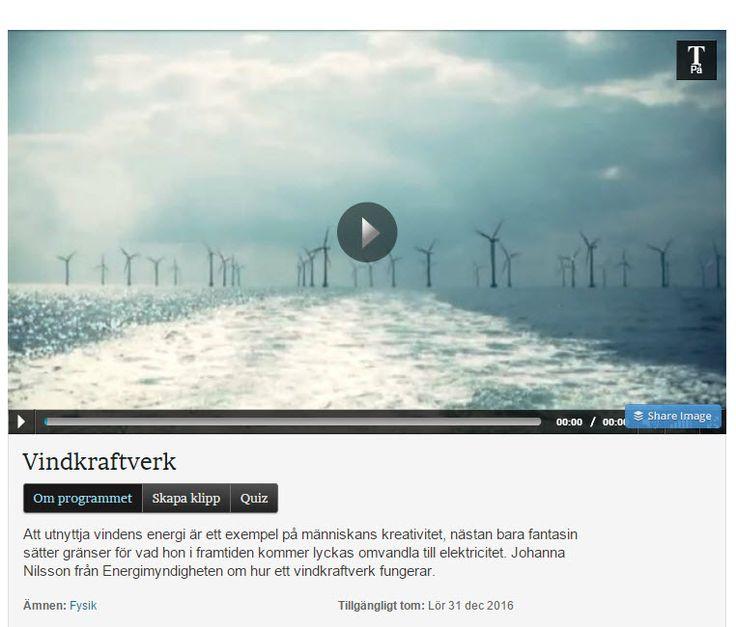Film om #vindkraft http://www.ur.se/Produkter/168204-Fatta-fakta-Vindkraftverk