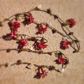Collar de Ganchillo Turco (Oya)