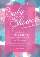 Honour the mom-to-be with baby shower or godh bharai invitations available online at Inksedge. Personalize the baby shower invitation cards to suit your style.