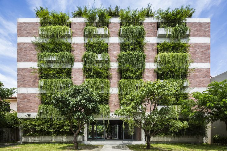 """Completed in 2016 in tp. Hội An, Vietnam. Images by Hiroyuki Oki. ATLAS HOTEL HOIAN is located in Hoi An's """"Old Town; an area which has rapidly grown since it was officially named by UNESCO as a World Heritage Site...."""