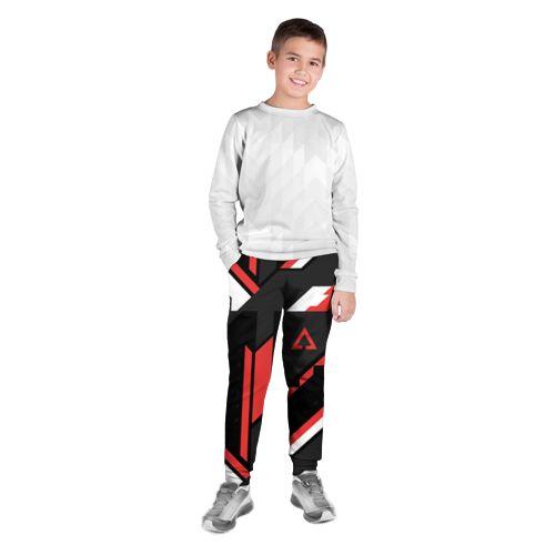 Детские брюки 3D CSGO Cyrex Pattern Фото 01, Детские брюки 3D CSGO Cyrex Pattern черный