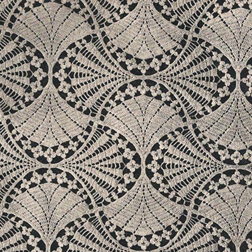 crochet - Victorian Fan and Flowers Crochet Bedspread Pattern - magnificent