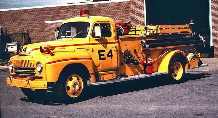 Albany International Airport Fire Department Engine 4