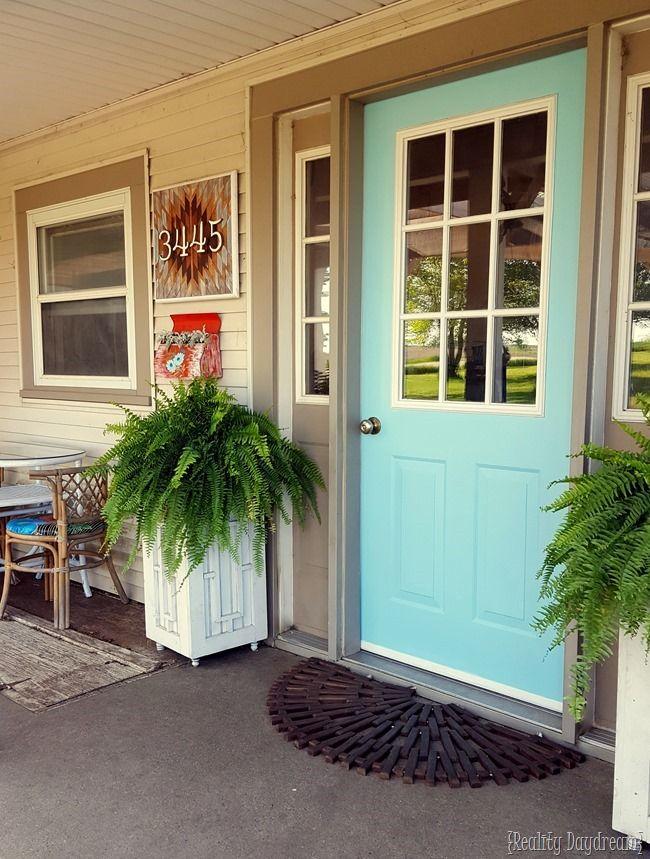 Best 20 Front Yard Landscaping Ideas On Pinterest: Best 20+ Aqua Front Doors Ideas On Pinterest