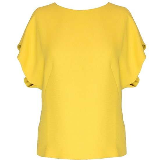 Блузка женская желтая, Biryukov, где купить: Дань Моде