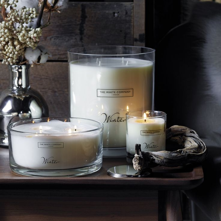Winter from The White Company | Candles