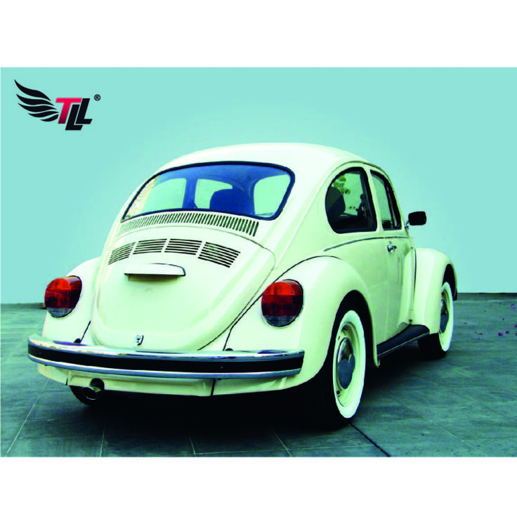 Beetle Ovval, mejorado en 1955 al añadir: luces traseras de compartimiento único con luces de freno integrados, tubo de escape doble, y un techo solar de PVC#tiendadellantas #motos #carro #seguridad #prevención #diseño #innovación #tecnología #motor #rueda